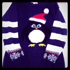 ❄️ Adorable Penguin Christmas Sweater